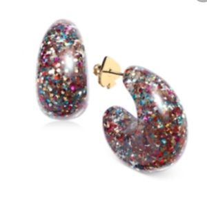 NWT Kate Spade Adore-Ables multi glitter earrings